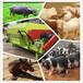 猪场用粉料混合机润丰饲养场用的卧式大型搅拌机