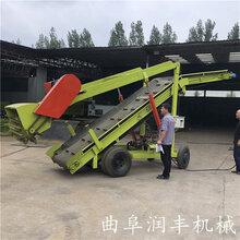 青储坑内电动取料机移动式7米高饲草扒料机图片
