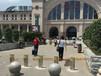 武汉钢精灵路桩汉口火车站路桩不锈钢防撞路桩路桩图片