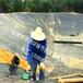 廣東恩平黑膜沼氣池,沼氣工程現場施工圖