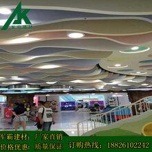 外墙弧形铝方通吊顶&天津新闻网会所内蒙古