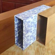 铝方管吊顶/木纹铝方管办公室专用/优惠促销/江西新闻网图片
