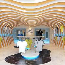 展厅背景墙弧形铝方管厂家直销订购热线:188-261O-2242%福建新闻网图片