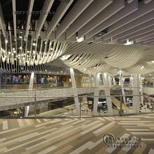 滿洲里弧形墻面做鋁方通供應商圖片
