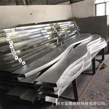 解放鋁弧形方通多少錢廠家批發圖片