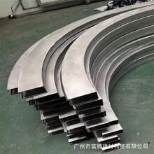 杭錦后旗外墻弧形鋁方通市場價格圖片