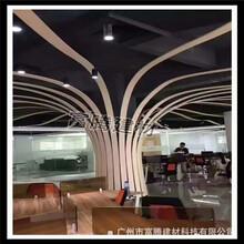 梁平县弧形铝方通吊顶市场报价图片
