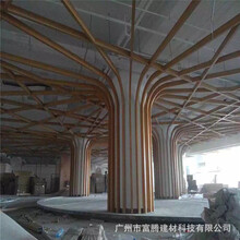 海安縣弧形鋁方通吊頂市場價格圖片