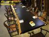 新中式實木大板桌餐桌茶桌