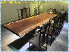供应临沂实木大板红木家具桌椅可现货可定制