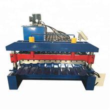 厂家直销水波纹840型压瓦机全自动850型波纹板压型设备屋顶板滚压机械图片