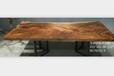 南美花梨大开裂办公桌餐桌咖啡厅酒吧设计师专用