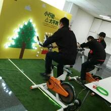发电动感单车出租圣诞节暖场设备租赁图片
