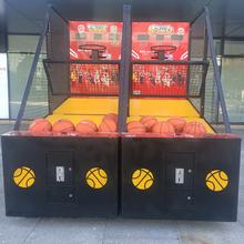 天津游乐设备租赁003型号电玩篮球机出租计分投篮机图片