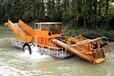 水下雜物打撈船高效全液壓割草船型號