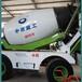 北京混凝土搅拌车中首重工水泥搅拌罐车带电子称重仪