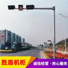江西省吉安市道路公園小區監控立桿組合不銹鋼道路立柱支架圖片
