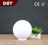 户外亚克力灯罩250mm塑料奶白色圆球灯罩图片