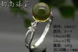 時尚925銀耳釘日韓飾品珍珠托供應采購琥珀藍珀耳飾空托加工鑲嵌