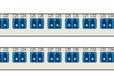 包头波分设备、通信设备、密集波分的合/分波板、iTN8600-DM16E/DD16E