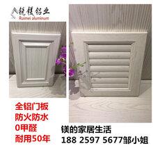 佛山锐镁铝业欧式橱柜柜门定制整体橱柜地柜门板带框门板定制图片