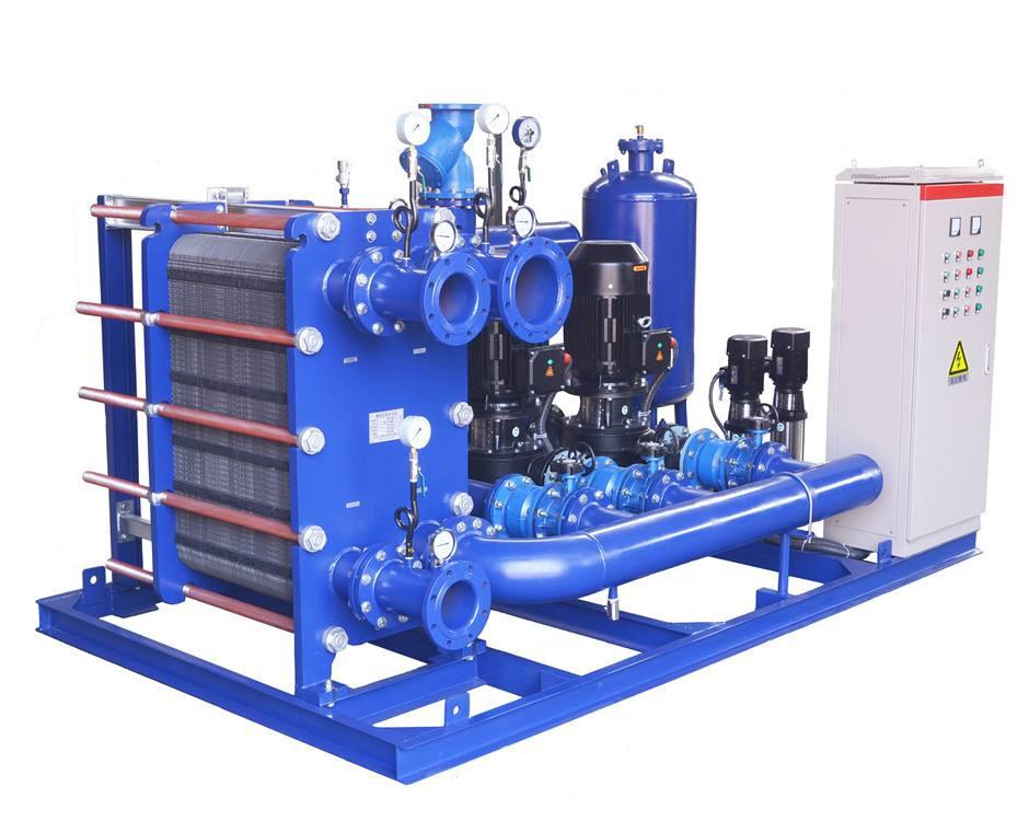 空气能配套设备板式换热器容积换热器