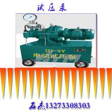 试压泵双缸高速电动型图片