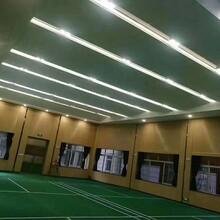 多功能厅铝制条形吸音板微孔铝蜂窝吸音板规格图片