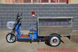 直销0.6立方电动三轮不锈钢车、不锈钢环卫保洁车