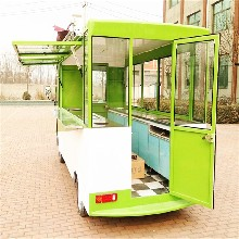 供应郑州电动餐车设备环保电动餐车多功能小吃车餐车厂家直销