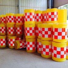 焦作水马隔离埻厂家防撞桶最新价格三孔水马防撞桶低价出售