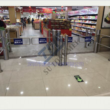 热销智能超市感应门出入口器红外线进出自动门超市单向自动门闸机