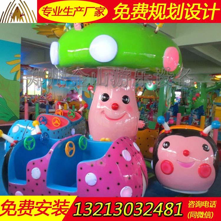 新款瓢虫乐园厂家公园儿童游乐设施报价