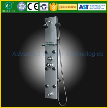 連云港愛斯特淋浴設備有限公司AST0204鋁合金淋浴屏