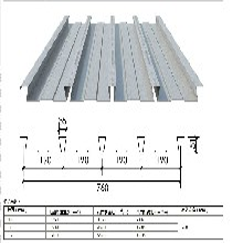 沈陽YXB40-185-740(B)鍍鋅鋼板圖片