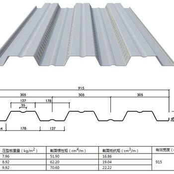 宿州YXB51-240-720彩色压型钢板