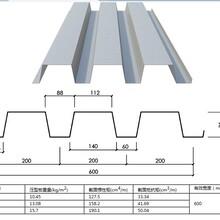 吕梁YXB60-186-558(B)组合楼承板厂家图片
