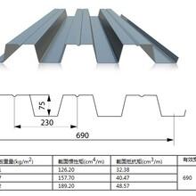 池州YXB65-220-660鍍鋅壓型鋼板廠家圖片