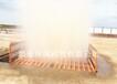 万源工地洗车槽样式渣土车洗轮机图片环保冲洗平台洗轮机