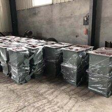 泽宇环保厂家直销双层单门电动锁风翻板阀。图片