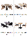 珠海快餐店桌椅,奶茶店桌椅,食堂餐桌椅,半圆卡座沙发,桌椅批发