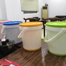 食品级HDPE搅拌桶10升方形酵素桶塑料透明啤酒桶快速食品级酵素桶厂家图片