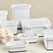 日式365納米抑菌冰箱保鮮盒奶香味保鮮盒