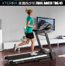 美国XTERRA司特拉跑步机TR6.45豪华家用超静音带童锁健身器材图片