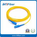 光纤跳线厂家SC-SC单模光纤跳线单芯跳线光纤跳线3米电信级图片