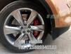 英菲尼迪FX35刹车专业实体改装店升级英国正品AP8520后AP8530?#26114;?#21049;车卡钳套装~车佰速