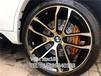 寶馬X5剎車系統升級改裝意大利brembo鮑魚六活塞剎車卡鉗套裝