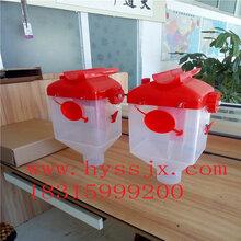 供应辽宁养殖设备尼龙定量杯价格/木猪饲料桶/厂家直销浩宇图片