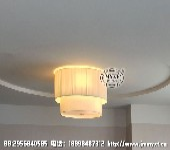 酒店客房燈具,客房吸頂燈,客房布藝吸頂燈,星級酒店客房燈具定制