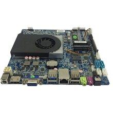 研盛赛扬1037U厚板外置打印口主板查询机主板支持3G4G功能主板图片